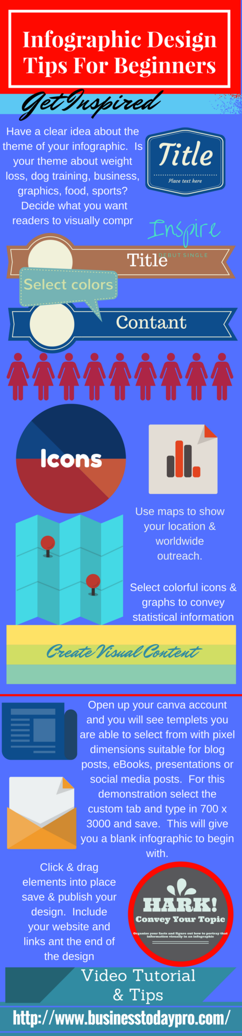 how to makeinfographics design